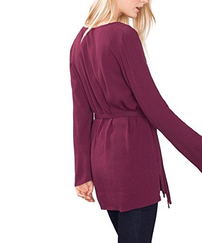 ESPRIT Collection Damen Bluse Rot (bordeaux Red 600)