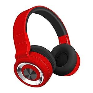 Alitoo Bluetooth Ausinės Over Ear, Wireless Headset mit integriertem Geräuschunterdrückung-Mikrofon und weichem Ohrpolster, 12 Stunden Spielzeit, 3,5 mm AUX Headphone