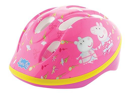 Preisvergleich Produktbild Peppa Pig Fahrradsicherheitshelm,  rosa,  48 – 52 cm