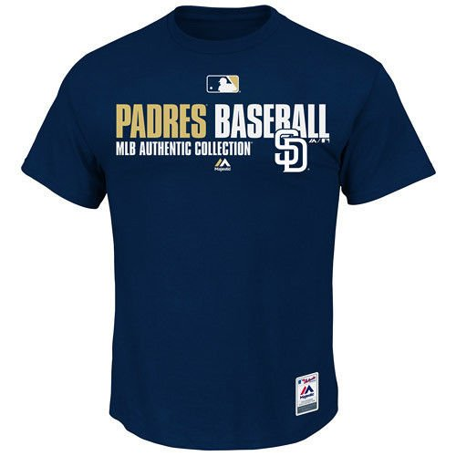 MLB Baseball T-Shirt SAN DIEGO PADRES Authentic Collection Team Favorite in S (SMALL)