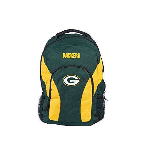 NFL draftday Rucksack, Kinder, grün / gold