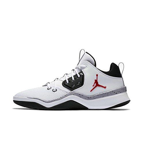 best loved 34eaa 41dee Jordan Nike Herren Air DNA Weiß Mesh Synthetik Sneaker 42