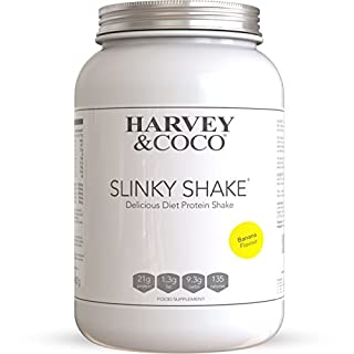 Harvey & Coco Weight Loss Support Protein Shakes For Men & Women, Banana