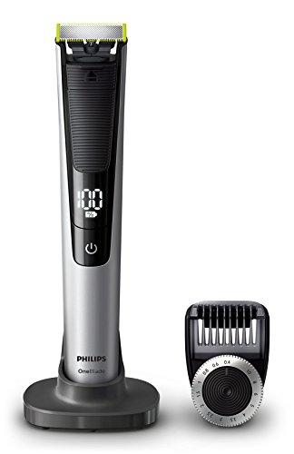 Philips OneBlade Pro Face QP6520/30, mit 1 Präzisionstrimmer, 14 Längeneinstellungen - Persönliche Touch Rasierer