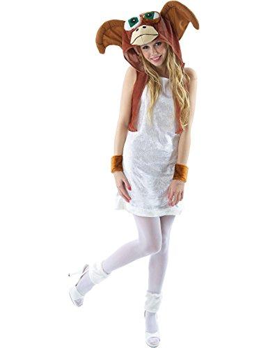 (Damen 80er Gremlin Film Halloween Verkleidung Fasching Karneval Kostüm Medium)