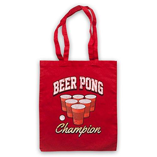 Beer Pong Champion borsa custodia Rosso