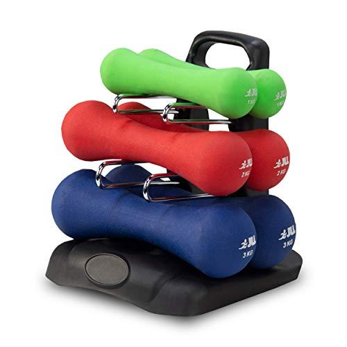 6f21e85097 JLL® Ergonomic Neoprene Dumbbells Set Hand Weight Exercise Fitness Home Gym