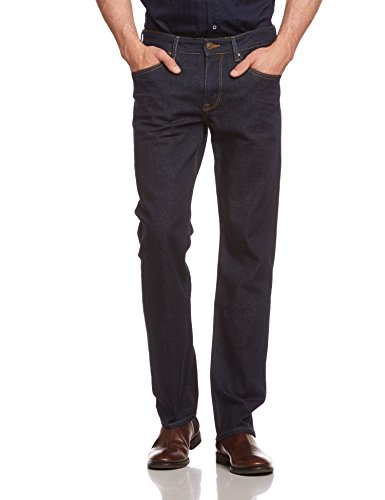 Cross Jeans Herren Relaxed Jeanshose New Antonio, Gr. W40/L32, Blau (Rinsed 012) (Five-pocket Weites Bein Jeans)