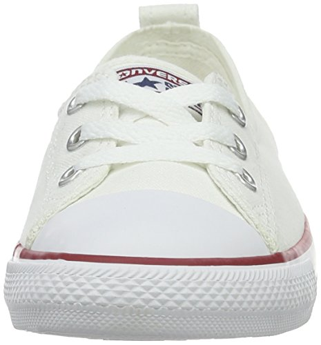 Converse Chuck Taylor Ballet Dentelle, Chaussons Femme Blanche (whitewhite)