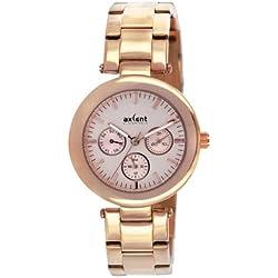 Axcent Damen-Armbanduhr Connection Analog Quarz Rosa IX5537R-032