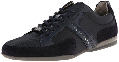BOSS Hugo Herren Spacit Sneaker, Navy, 46 EU