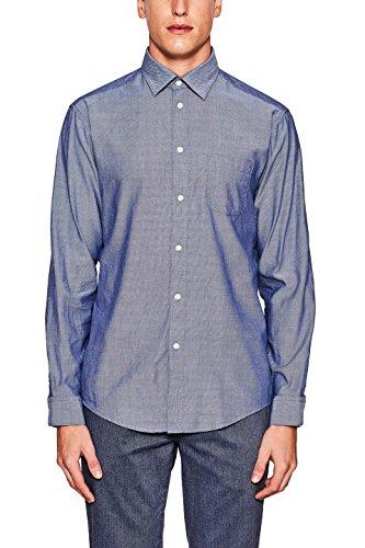 ESPRIT Collection Herren Businesshemd Blau (DARK BLUE 405)