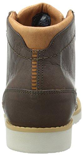 Teva Durban-Leather, Stivaletti Uomo Marrone (Bison- BisBison- Bis)