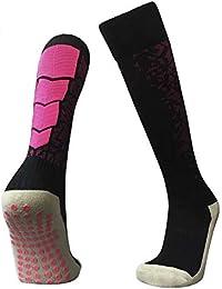 Arvin87Lyly Medias de algodón para Deportes al Aire Libre con Puntos de Goma, Calcetines Deportivos