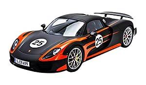 Chispa del Coche Modelo S18170 Modelo Porsche 918 Spyder Weissach Nº 25 en la Escala 1:18