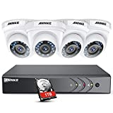 ANNKE Video Surveillance Kit 1080P HD TVI 8CH DVR Security System, One 1TB