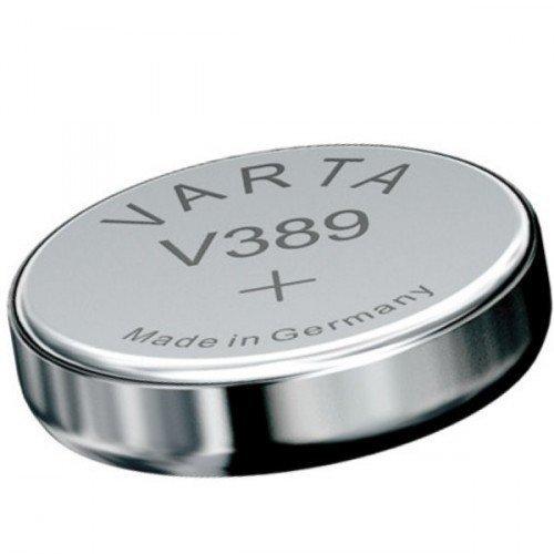 Akku-King 20110532 Silver Oxide 85 mAh 1,55 V Rechargeable Battery – Rechargeable Batteries (Silver Oxide, 85 mAh, Universal, 1,55 V, Silver, Varta V389, v10gs1)