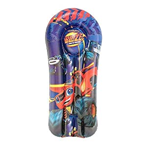 Blaze And The Monster Machine- Blaze & Monster Machine Colchoneta Hinchable 120 cm (Saica 2128)