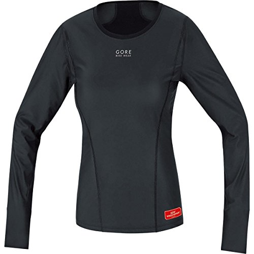 GORE BIKE WEAR Damen Thermo-Unterzieh-Shirt, Langarm, Stretch, GORE WINDSTOPPER, BASE LAYER WS LADY...