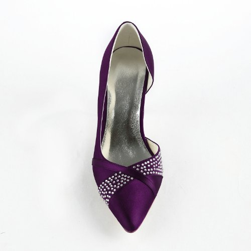 Jia Jia Wedding 315 chaussures de mariée mariage Escarpins pour femme Violet