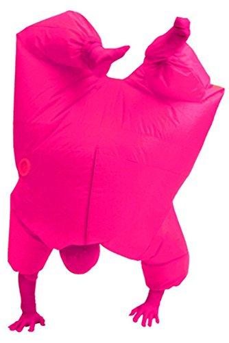 Aufblasbares Fett Dick Kleid Fasching Zweite Haut Anzug Karneval Luftschiff Kostüm (Dick Kostüme)