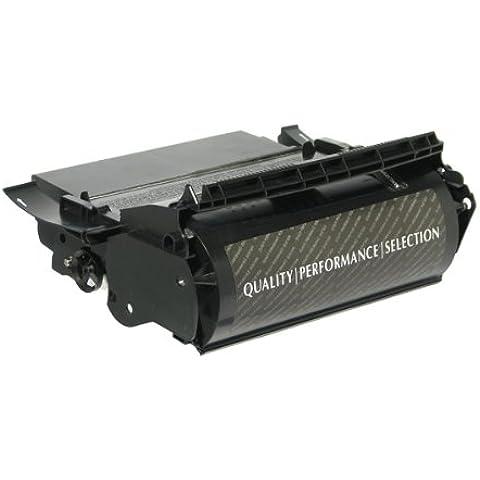 Dataproducts - Cartucho de tóner compatible 12A5745 y 12A5845 para impresoras Lexmark Optra T610, T612, T614 y T616, color negro