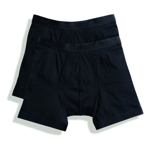 Fruit of the Loom Classic Boxershorts (4er Pack), Größe:XL;Farbe:4xBlack - Von Of The Loom Herren-unterhosen Fruit