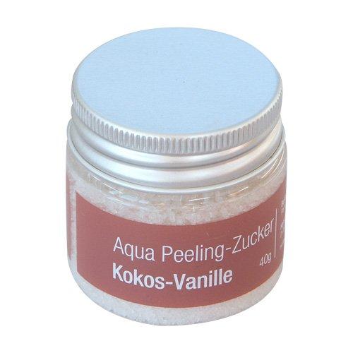 Finnsa Aqua Peeling-Zucker 40g, Kokos-Vanille (Kokos-zucker-peeling)