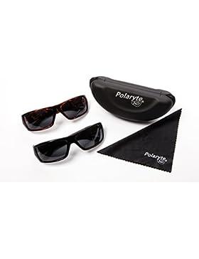 Industex Polaryte HD - Juego de 2 pares de gafas de sol polarizadas, UVA UVB UV400.