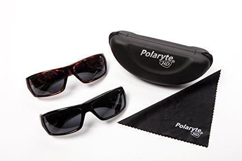 Gafas de sol Industex Polaryte HD polarizadas, UVA, UVB, UV400, 2unidades