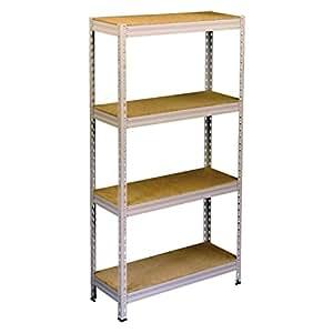 Étagère kellerregal werkstattregal étagère meuble de rangement étagère 700 kg-dimensions (h x l x p) :  env. 160 x 80 x 30 x 4 cm 175 kg