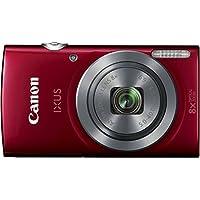 Canon IXUS 160 Digitalkamera (20 Megapixel, 8-fach optisch, Zoom, 16-fach ZoomPlus, 6,8 cm (2,7 Zoll) LCD-Display, HD-Movie 720p) rot