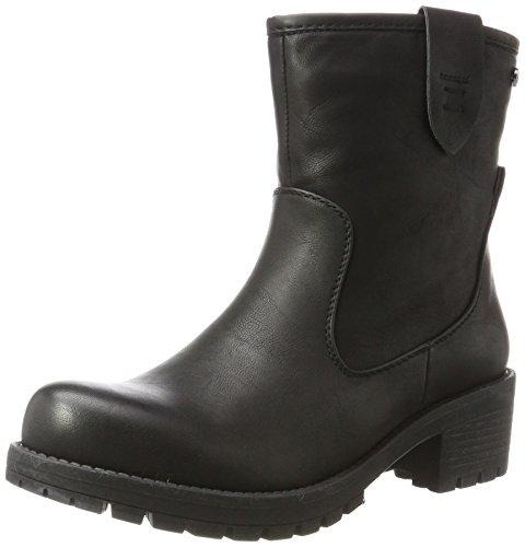 XTI Damen 047425 Biker Boots, Schwarz (Black), 36 EU