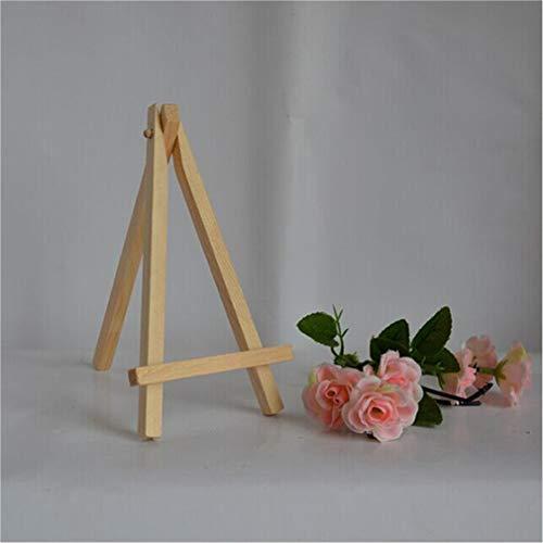 LIXIAQ1 - Cavalletto da Tavolo in Legno per artisti, Ideale per Matrimoni, segnaposti e Menù