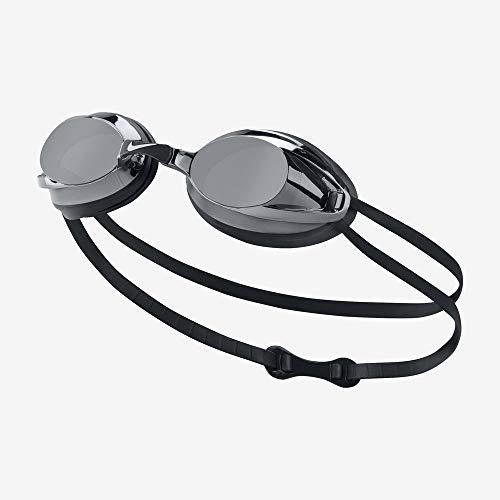 Nike 93011-001 Silikonbrille, Schwarz, Einheitsgröße