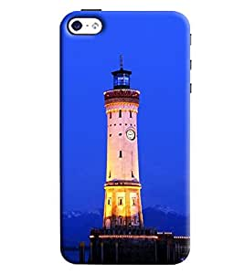 Omnam Light House Printed Back Cover Case For Apple iPhone 4/4s