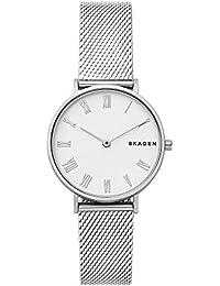 Skagen Reloj Analógico para Mujer de Cuarzo con Correa en Acero Inoxidable SKW2712