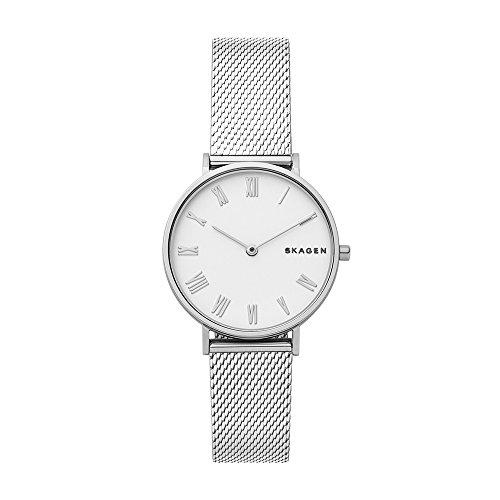 Skagen Damen Analog Quarz Uhr mit Edelstahl Armband SKW2712