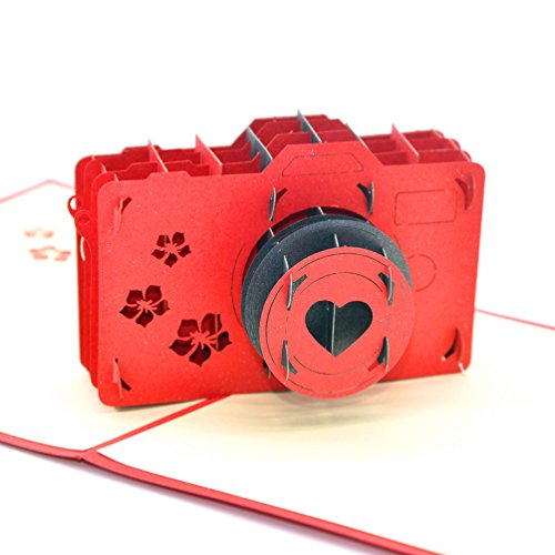 Medigy, biglietto d'auguri pop-up, 3D, a forma di macchina usato  Spedito ovunque in Italia