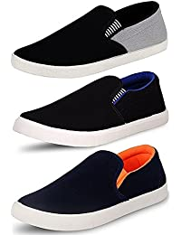Clymb Perfect Combo Pack of 3 Loafer Shoes for Men