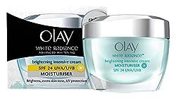 Olay White Radiance Advanced Fairness Protective Skin Cream Moisturizer SPF 24/PA++, 50g