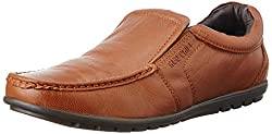 Red Chief Mens Tan Leather Formal Shoes - 9 UK/India (43 EU)
