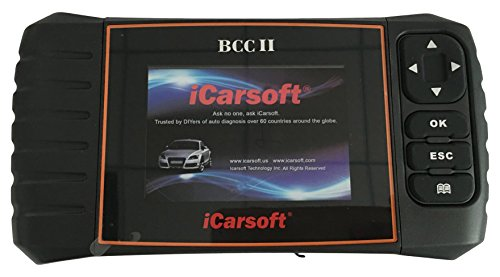 iCarsoft multi-systems Scan Tool BCC II für Chrysler/Jeep/GM (Chevrolet/BUICK/Cadillac/GMC), ABS, SRS, Öl Reset, SAS (Obd Scanner Abs)