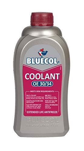 Bluecol BEL001 OE30/34 Concentré pour réfrigérateur Rouge 1 litres