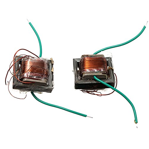 ILS - 2 pieces 10KV High Frequency High Voltage Transformer Booster Coil Inverter -