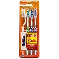 Signal Brosse à Dents 4 Actions Medium Lot X4