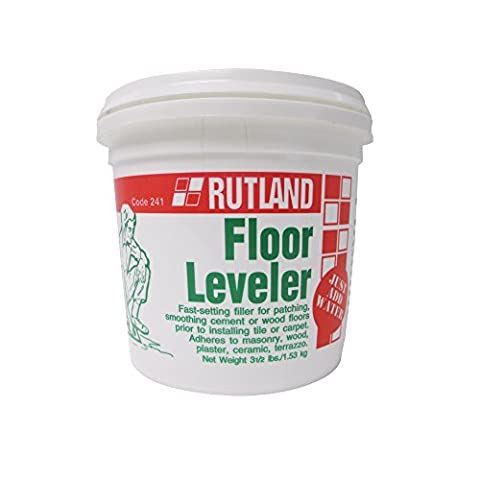 Rutland Floor Leveler, 3.5 Lb Tub, Gray