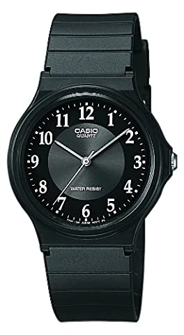 Casio - Vintage - MQ-24-1B3LLEF - Montre Homme - Quartz