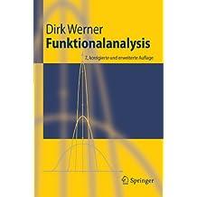 Funktionalanalysis (Springer-Lehrbuch)