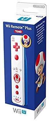 Official Nintendo Wii U Remote Plus Toad Edition from Nintendo